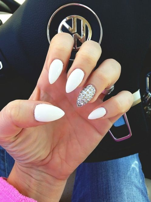 White stiletto nails pictures photos and images for facebook white stiletto nails solutioingenieria Image collections