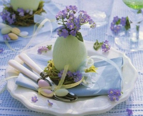 Easter table decorations pictures photos and images for facebook tumblr pinterest and twitter - Table easter decorations ...