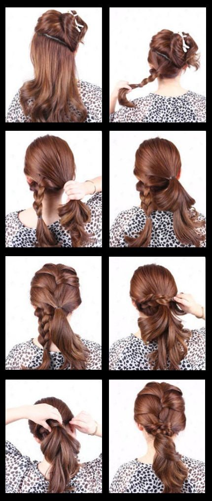 French Braid Hairstyle Pictures Photos And Images For Facebook Tumblr Pinterest And Twitter