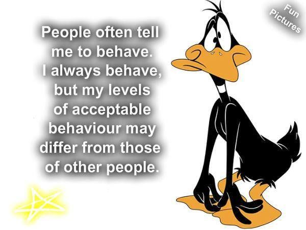 people tell me to behave pictures photos and images for facebook