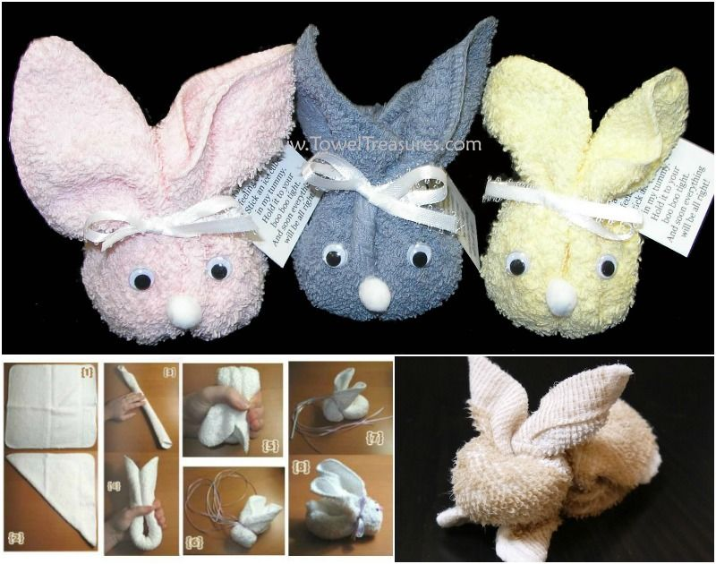 Diy Bunny Towels Pictures Photos And Images For Facebook