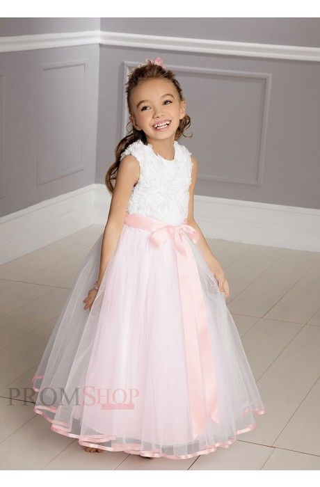 Sash/Ribbon/Belt Organza Flower Girl Dresses Pictures, Photos, and ...