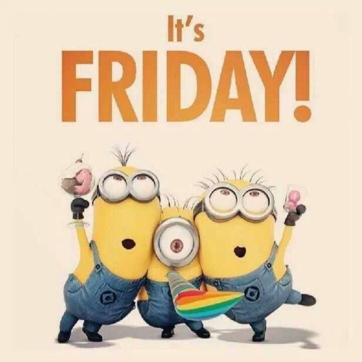 Funny Friday Quotes Humor: It's Friday Minions Pictures, Photos, And Images For