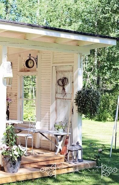 Shabby Chic Garden Shed