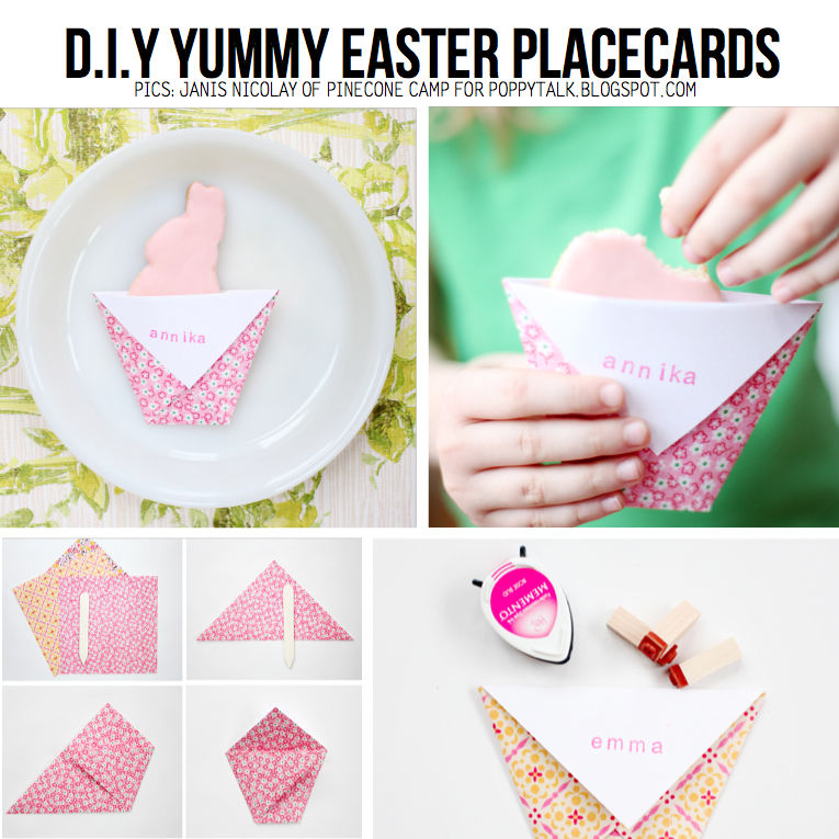 diy easter place cards pictures photos and images for facebook