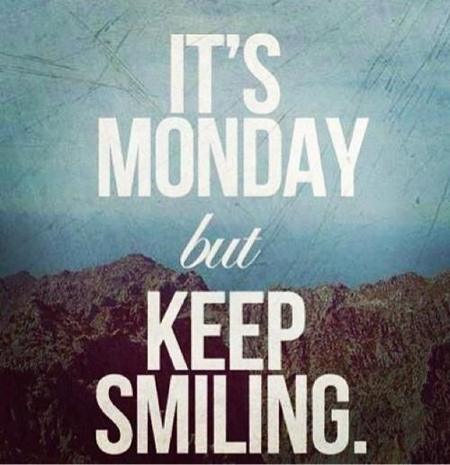 Keep Smiling Images For Facebook It's Monday...