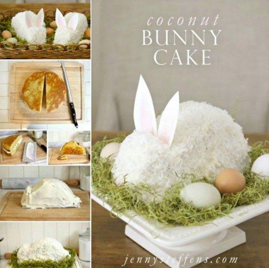 Easter Bunny Coconut Cake Recipe