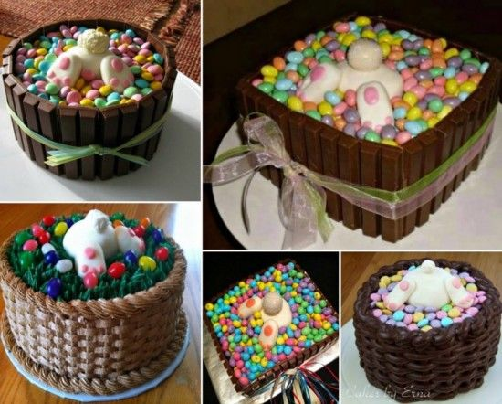 Easter Bunny Butt Cakes Pictures Photos And Images For
