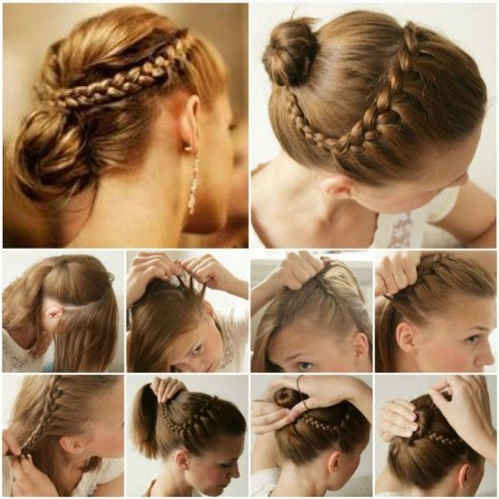 Braided updo hair tutorial pictures photos and images for braided updo hair tutorial pmusecretfo Images
