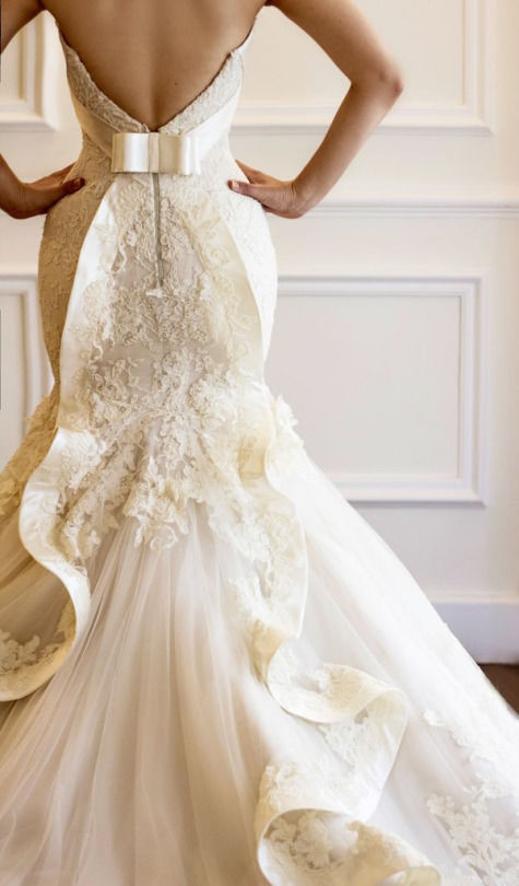 Backless Mermaid Wedding Gown Pictures, Photos, and Images for ...