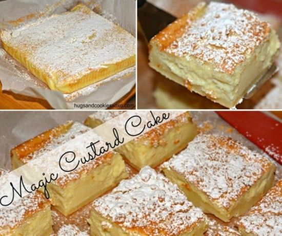 Magic Custard Cake Recipe Pictures, Photos, And Images For