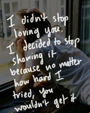 I Didnt Stop Loving You Pictures Photos And Images For
