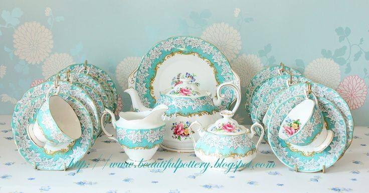 Gorgeous Spring Tea Set Pictures Photos And Images For