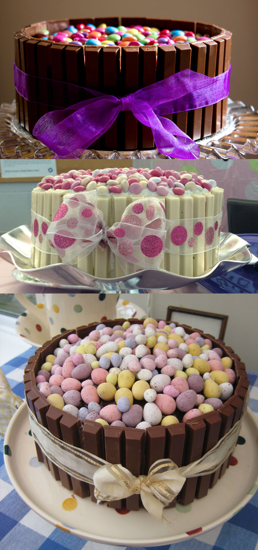Decorating Cake With Kitkat : Easter Kit Kat Cakes Pictures, Photos, and Images for ...