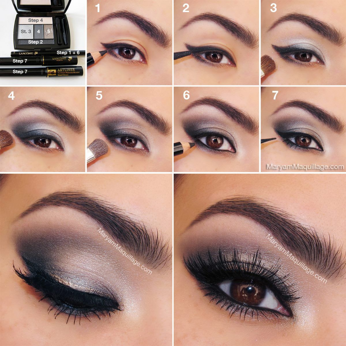 easy eye makeup tutorial pictures, photos, and images for facebook