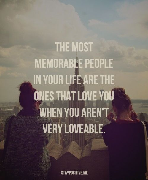The most unforgettable person