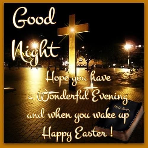 Image result for goodnight Easter