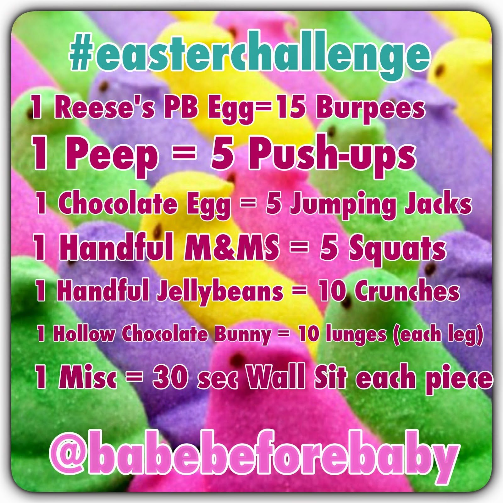Easter Workout Challenge Pictures Photos And Images For Facebook