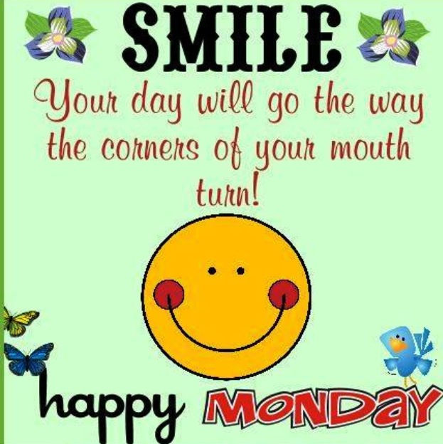 Smile Happy Monday