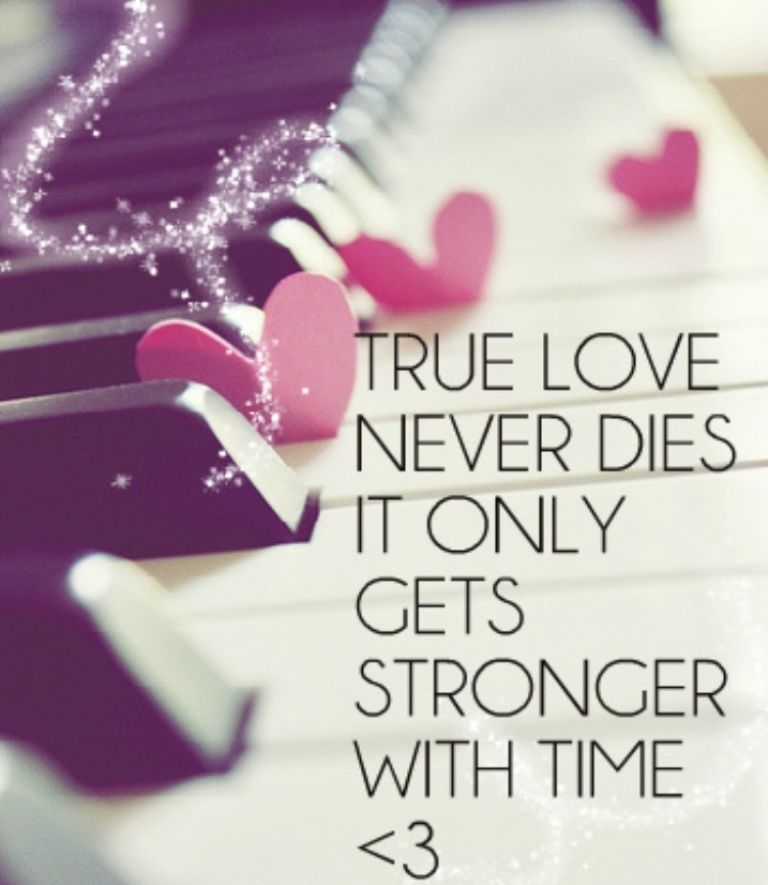 Quotes About Love: True Love Never Dies Pictures, Photos, And Images For