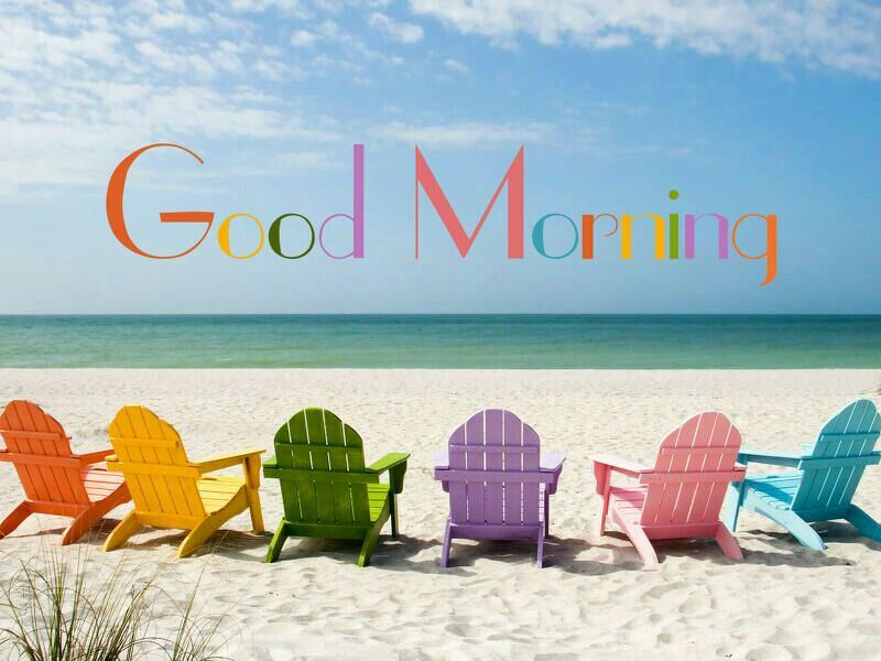 Colorful Good Morning Beach Pictures Photos And Images