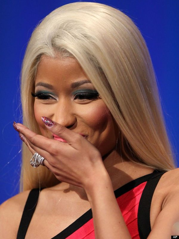 Image result for nicki minaj laughing