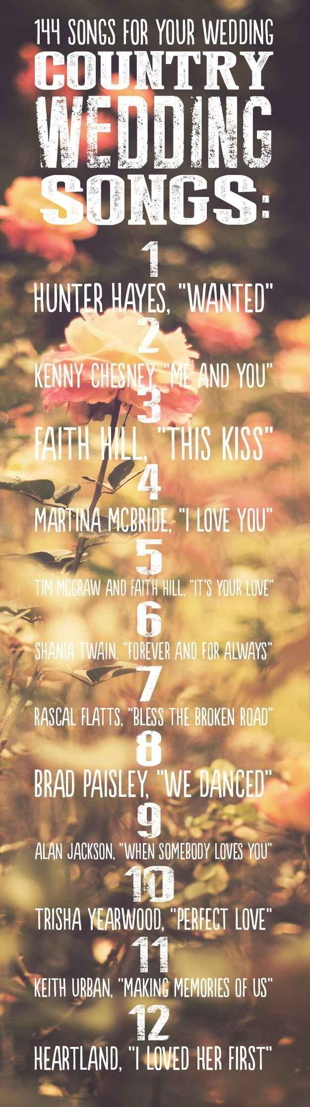 Country Songs For A Country Wedding Pictures Photos And Images For Facebook Tumblr Pinterest