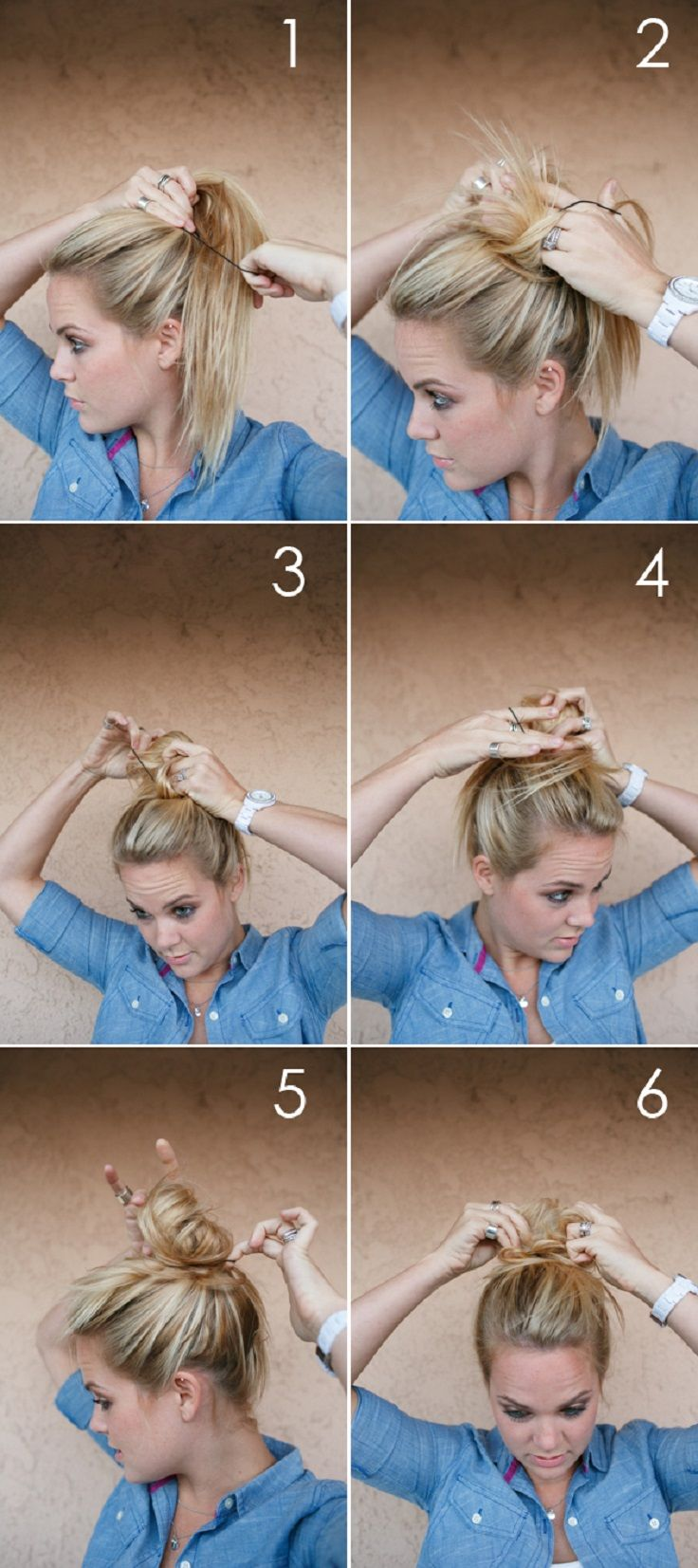 Diy Fat Messy Bun Pictures Photos And Images For