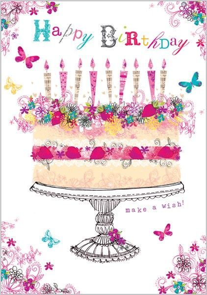 Happy Birthday Quote With Cake And Butterflies Pictures Photos Happy Birthday Wishes Butterfly