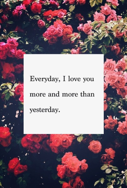 I Love You More And More Everyday Tumblr Quotes : Everyday I Love You More Pictures, Photos, and Images for Facebook ...