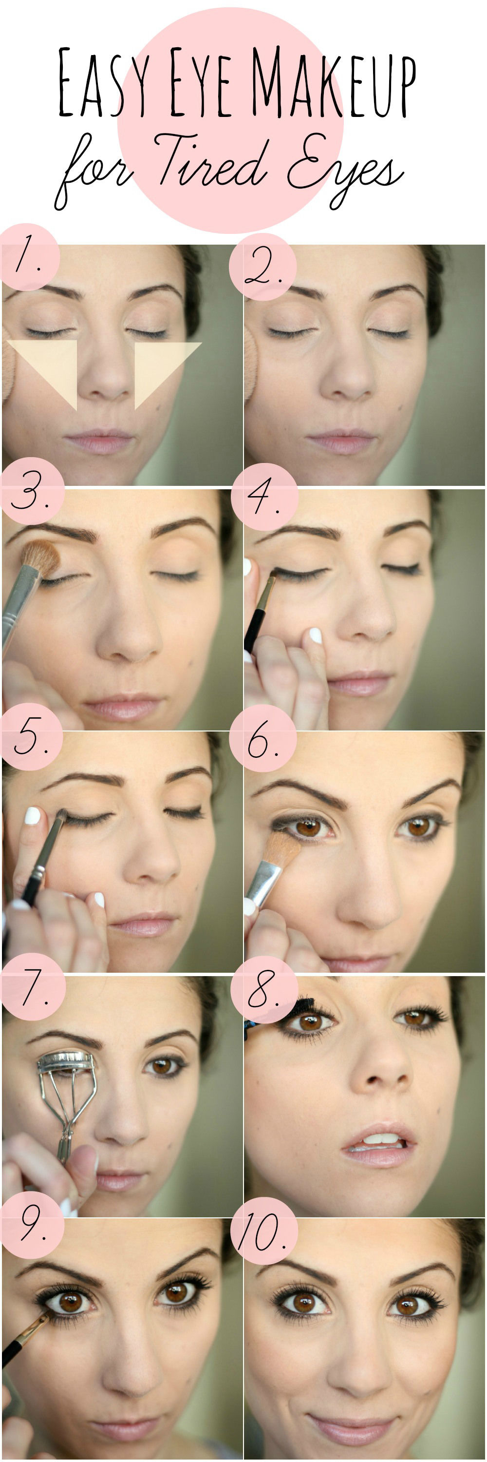 Easy Eye Makeup Tutorial For Tired Eyes Pictures, Photos
