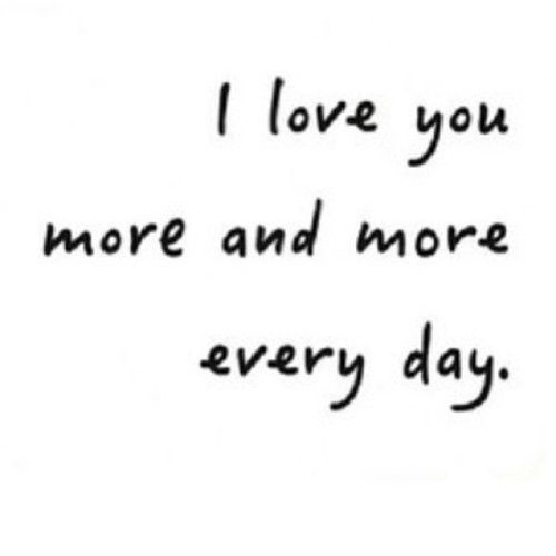 Quotes I Love You More Every Day: I Love You More Everyday Pictures, Photos, And Images For