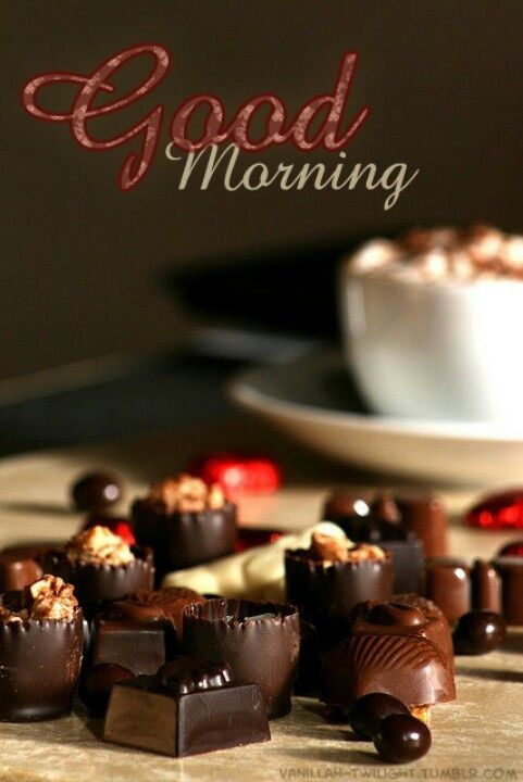 Good Morning Chocolate Pictures Photos And Images For