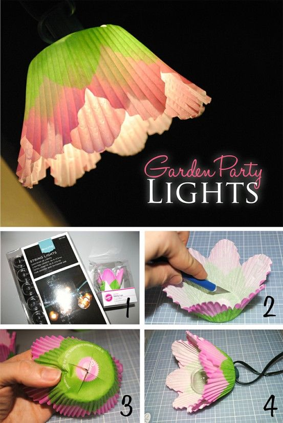 DIY Garden Party Lights Pictures, Photos, and Images for ...