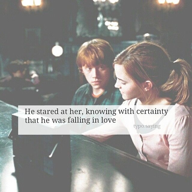 Love Quotes From Harry Potter: He Was Falling Inlove Pictures, Photos, And Images For