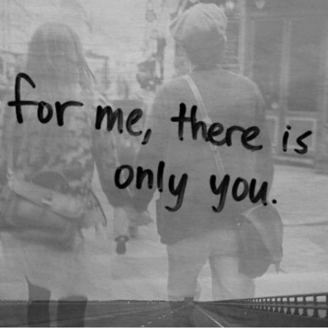 Only You For Me