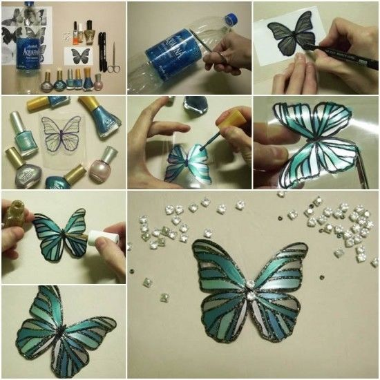 Upcycled Plastic Bottle Butterflies Pictures Photos And