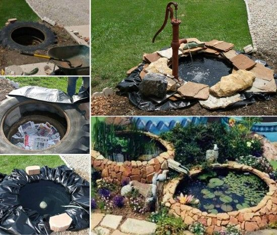 Diy Tire Pond Pictures Photos And Images For Facebook
