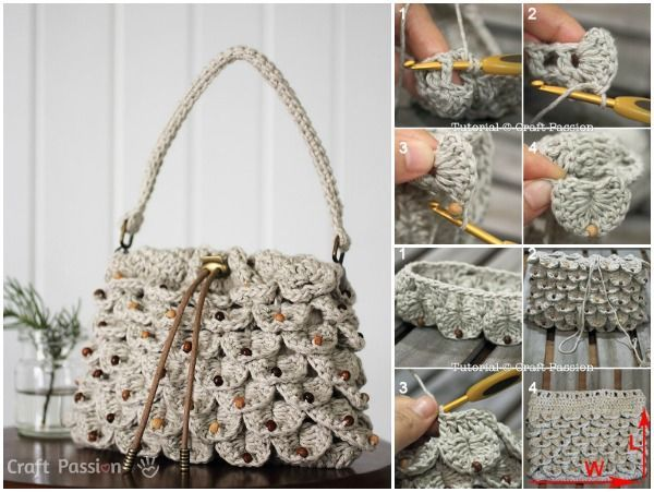 Crochet A Purse Tutorial Pictures Photos And Images For Facebook