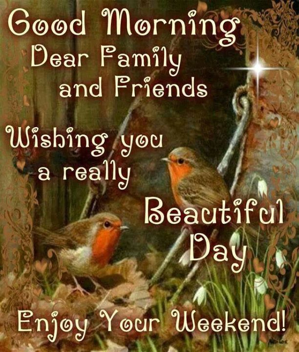Wishing You A Great Weekend Quotes: Good Morning Enjoy Your Weekend Pictures, Photos, And