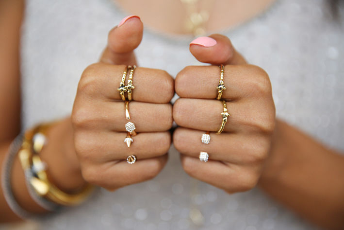 Multiple Rings Of Gold Pictures Photos And Images For