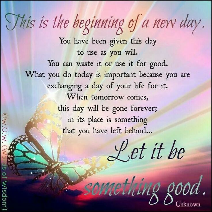Good Morning Quotes New Day : Beginning of a new day pictures photos and images for