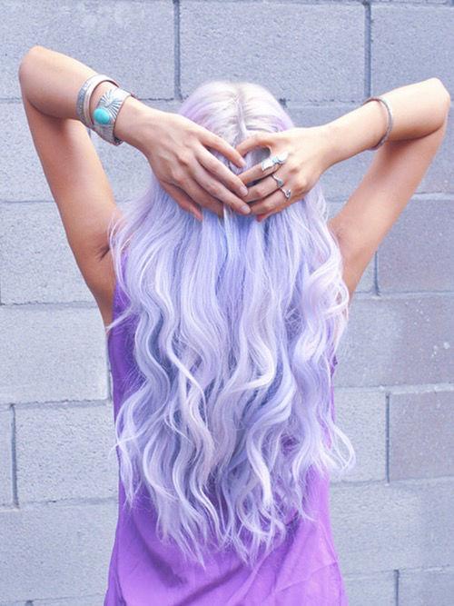 Lavender Hair Tumblr