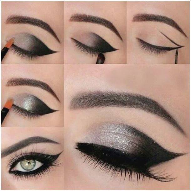 Step By Step Smokey Eye Makeup Tutorial Pictures Photos And Images