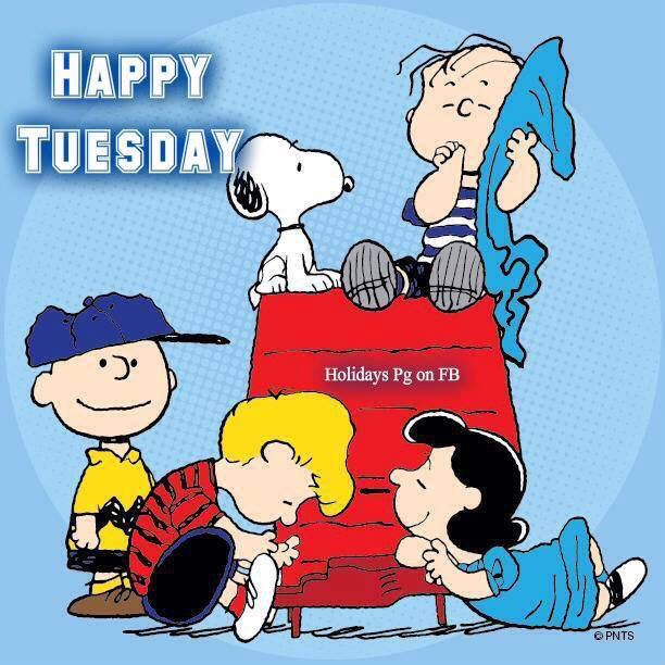 Peanuts Gang Happy Tuesday Pictures Photos And Images
