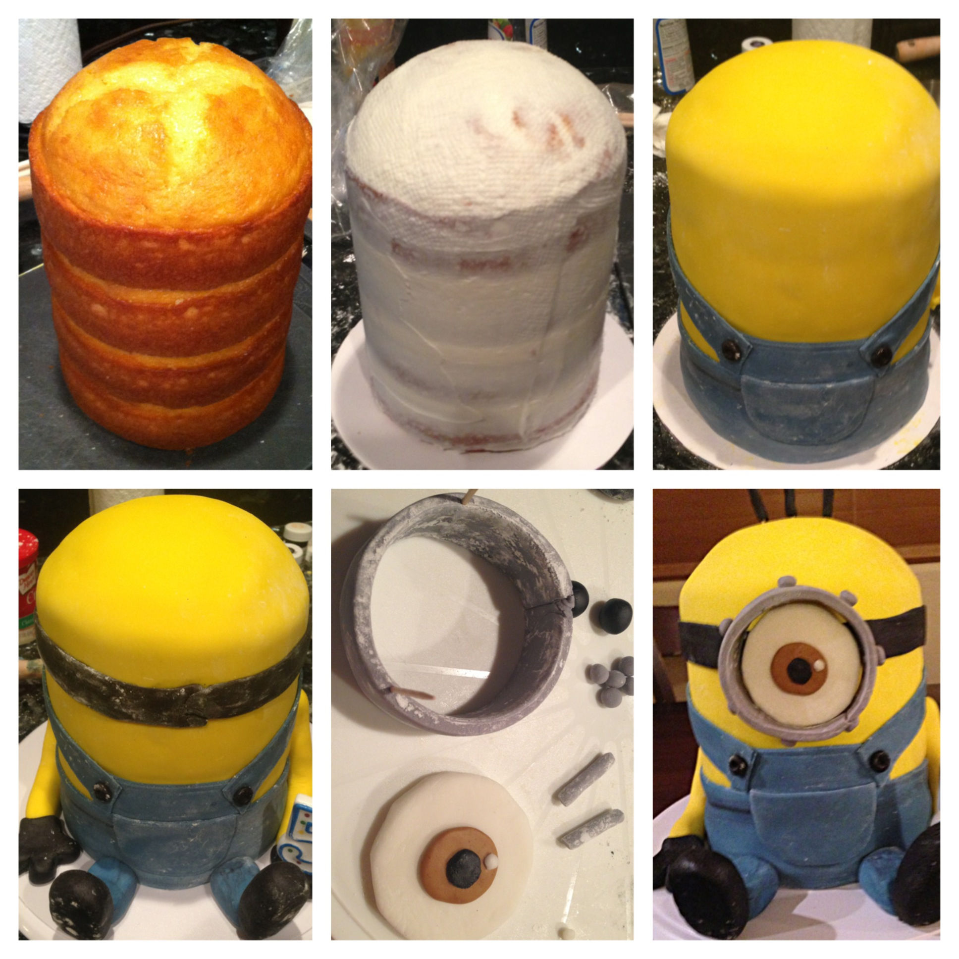 Cake Design How To Make : How To Make A Tall Minion Cake Pictures, Photos, and ...