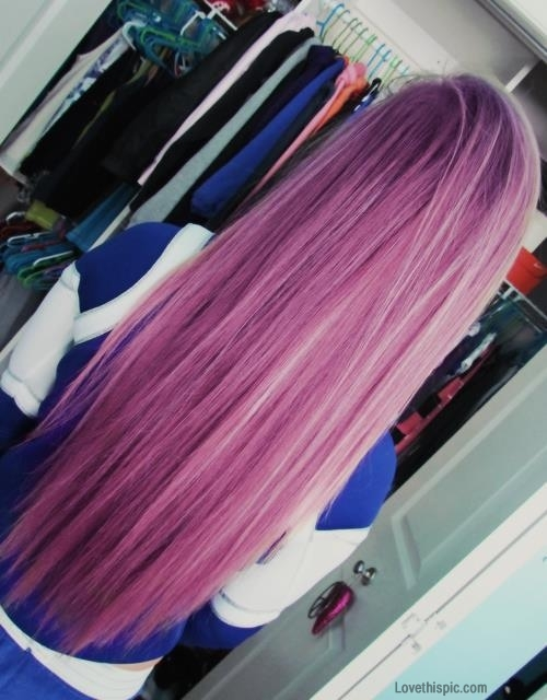 Long Purple Hair Pictures Photos And Images For Facebook