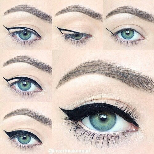 Perfect Winged Eye Makeup Tutorial Pictures Photos And