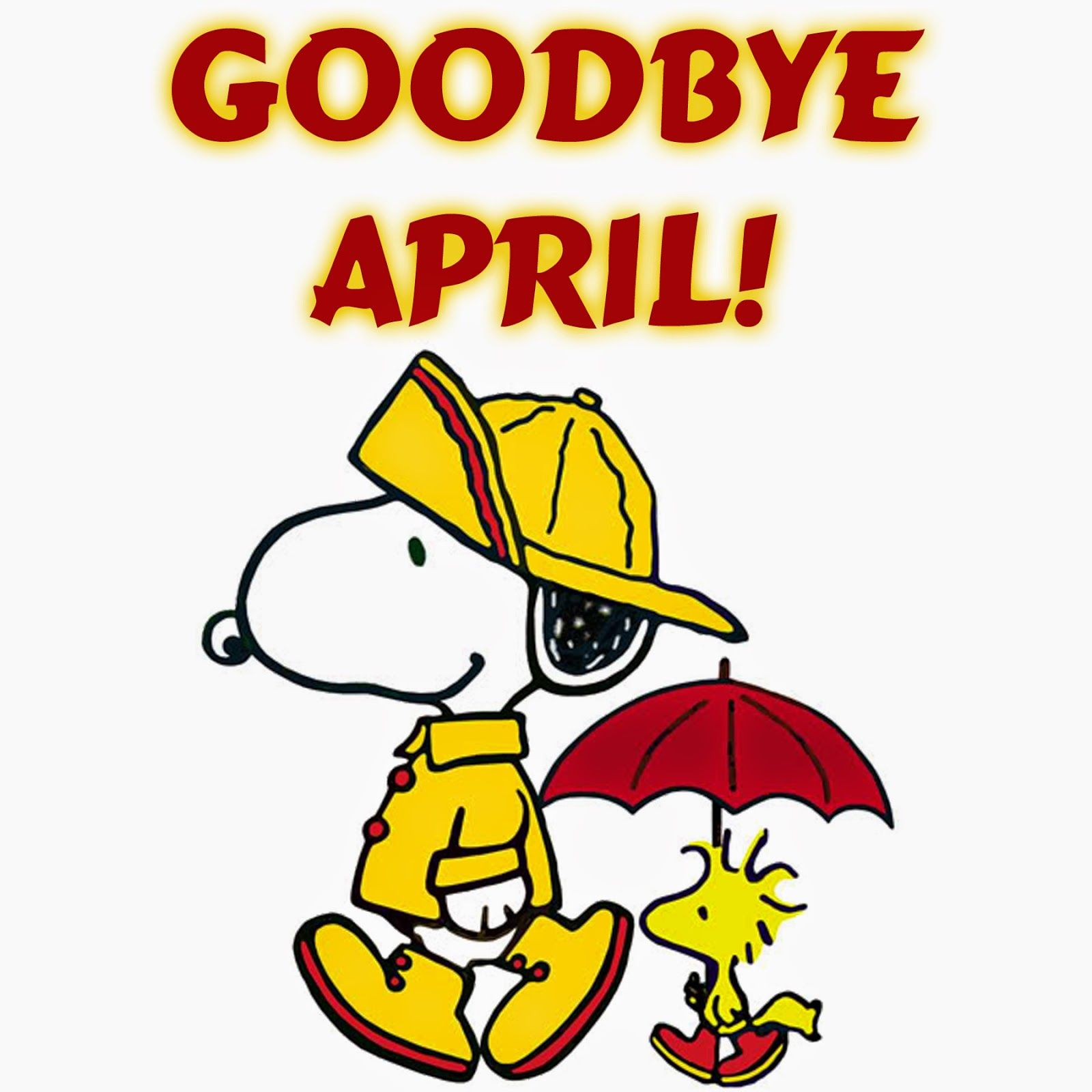 Snoopy Goodbye April Pictures, Photos, And Images For