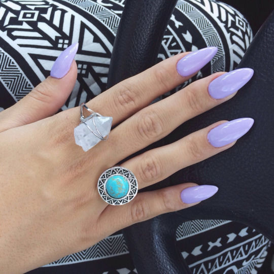 Purple Nails And Rings Pictures Photos And Images For Facebook